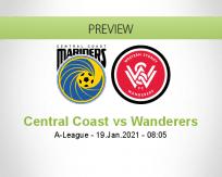 Central Coast Wanderers betting prediction (19 January 2021)