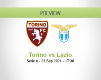 Torino Lazio betting prediction (23 September 2021)