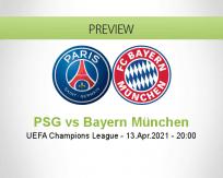 PSG Bayern München betting prediction (13 April 2021)