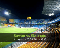 Suwon Gwangju betting prediction (28 February 2021)
