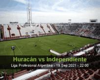 Huracán Independiente betting prediction (19 September 2021)