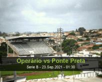 Operário Ponte Preta betting prediction (23 September 2021)
