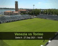 Venezia Torino betting prediction (27 September 2021)