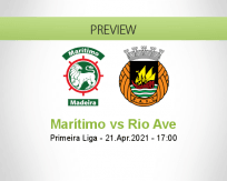 Marítimo Rio Ave betting prediction (21 April 2021)