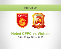 Hebei CFFC Wuhan betting prediction (23 April 2021)