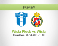 Wisła Płock Wisła betting prediction (28 February 2021)