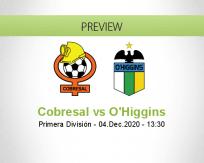 Cobresal vs O'Higgins
