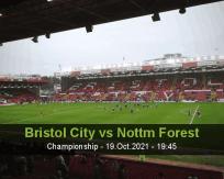 Bristol City Nottm Forest betting prediction (20 October 2021)