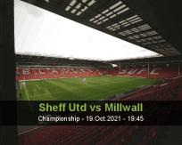 Sheff Utd Millwall betting prediction (20 October 2021)
