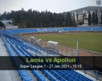 Lamia Apollon betting prediction (27 January 2021)