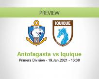 Antofagasta Iquique betting prediction (19 January 2021)