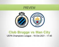 Club Brugge Man City betting prediction (20 October 2021)