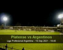 Platense Argentinos betting prediction (19 September 2021)