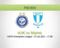 HJK vs Malmö