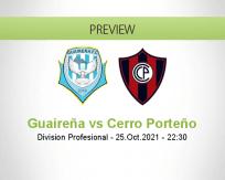 Guaireña vs Cerro Porteño