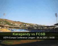 Karagandy vs FCSB