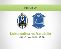 Lokomotiva Varaždin betting prediction (21 April 2021)