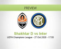 Shakhtar Donetsk vs Internazionale