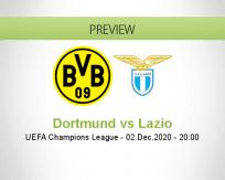 Dortmund vs Lazio