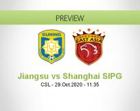 Jiangsu Suning vs Shanghai SIPG