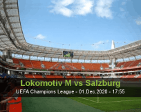 Lokomotiv M Salzburg betting prediction (01 December 2020)