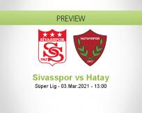Sivasspor Hatay betting prediction (03 March 2021)