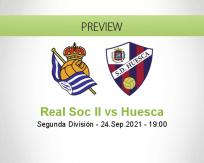 Real Soc II Huesca betting prediction (24 September 2021)
