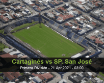 Cartaginés SP. San José betting prediction (20 April 2021)