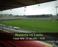 Atalanta Lazio betting prediction (27 January 2021)