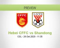 Hebei CFFC vs Shandong Luneng