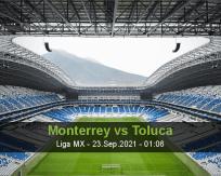 Monterrey Toluca betting prediction (23 September 2021)