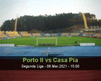 Porto II Casa Pia betting prediction (08 March 2021)