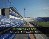 Atromitos vs Aris