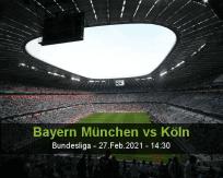 Bayern München vs Köln