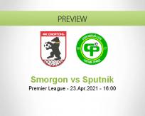 Smorgon Sputnik betting prediction (23 April 2021)