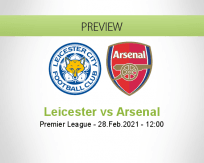 Leicester Arsenal betting prediction (28 February 2021)