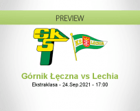 Górnik Łęczna vs Lechia