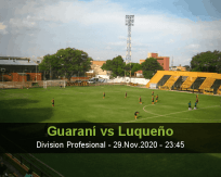 Guaraní vs Luqueño