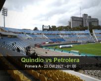 Quindío Petrolera betting prediction (23 October 2021)