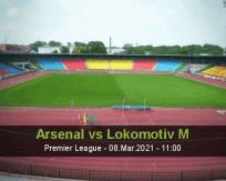 Arsenal vs Lokomotiv M