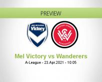 Mel Victory Wanderers betting prediction (23 April 2021)