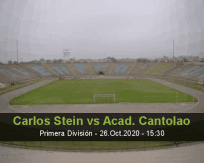 Carlos Stein vs Academia Cantolao