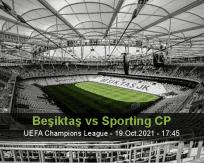 Beşiktaş Sporting CP betting prediction (20 October 2021)