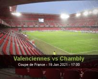 Valenciennes Chambly betting prediction (19 January 2021)