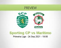 Sporting CP Marítimo betting prediction (24 September 2021)