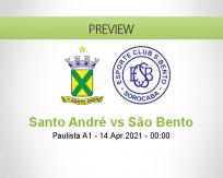 Santo André São Bento betting prediction (13 April 2021)