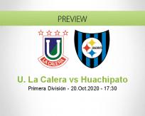 Unión La Calera Huachipato betting prediction (20 October 2020)