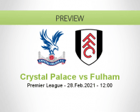 Crystal Palace Fulham betting prediction (28 February 2021)