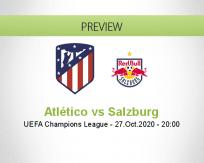 Atlético Madrid vs Salzburg