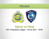 Nassr Hilal betting prediction (20 October 2021)
